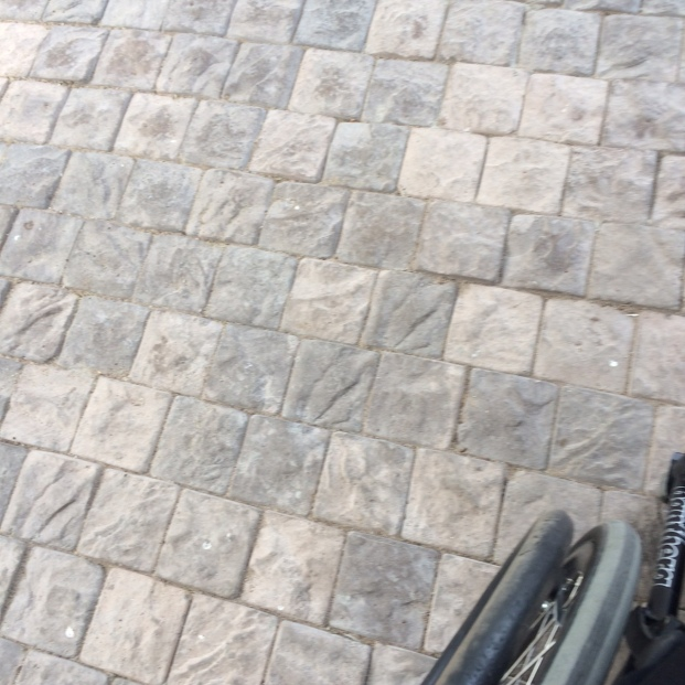 Bricks of stoep